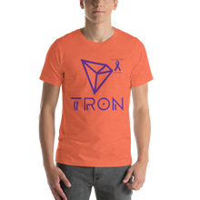Load image into Gallery viewer, Tron Pancreatic Cancer Awareness Short-Sleeve Unisex T-Shirt