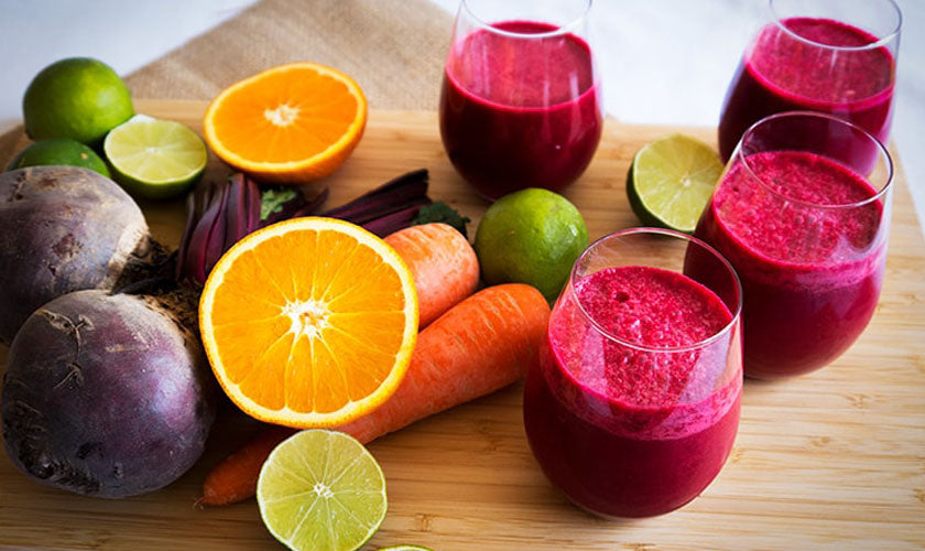 Beetroot Carrot Juice Recipe for Weight Loss