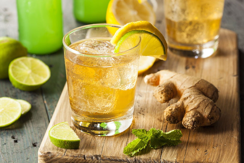 Recipe for Green Apple Ginger Ale