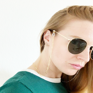 Bee Gold Sunglass Chain