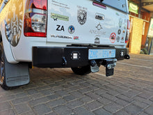 Load image into Gallery viewer, Rear Bumper towbar – Square + Light (Hilux Revo 2016-Current)