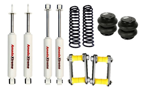 Cruiser 79 & 76 AmadaXtreme XL Combo 50mm Lift kit + Air Suspension