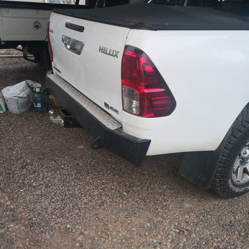 Rear Bumper towbar – Square (Hilux Revo 2016-Current)