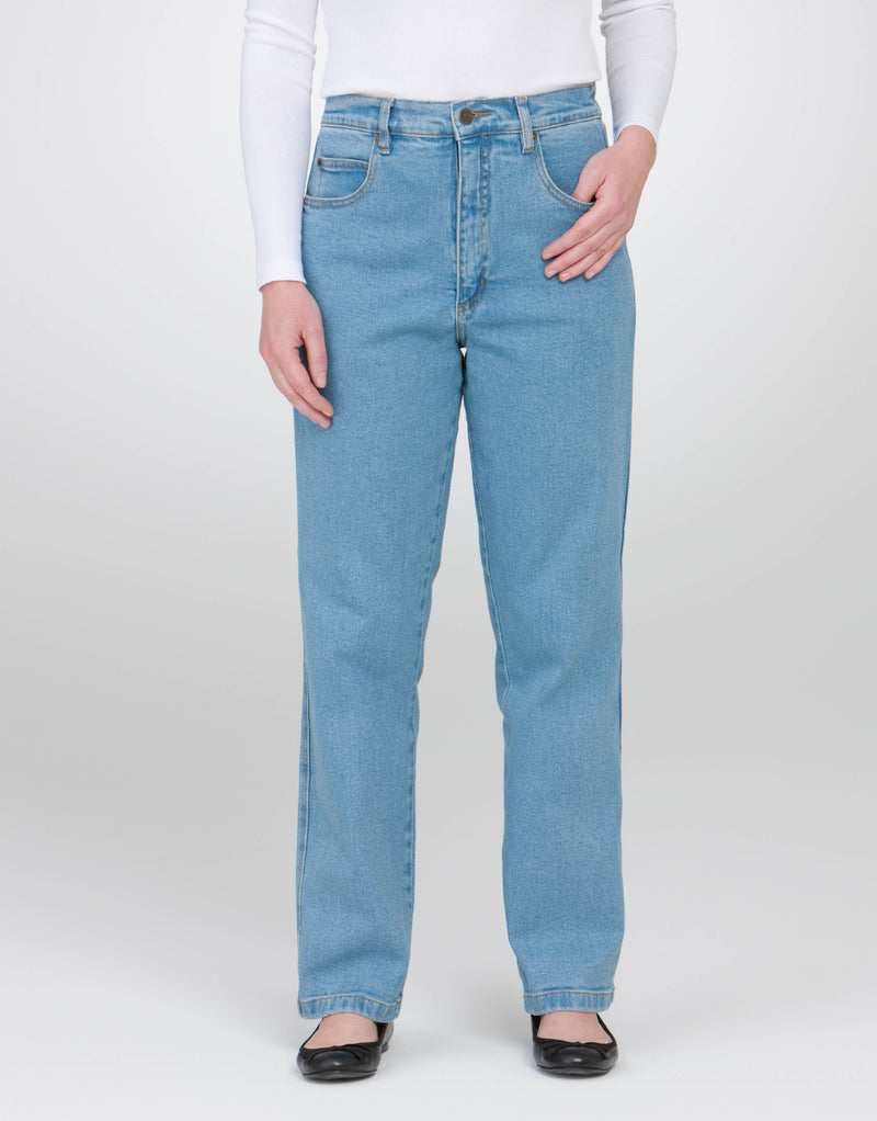 PICCADILLY STRETCH JEAN WITH ELASTIC TAB WAISTBAND