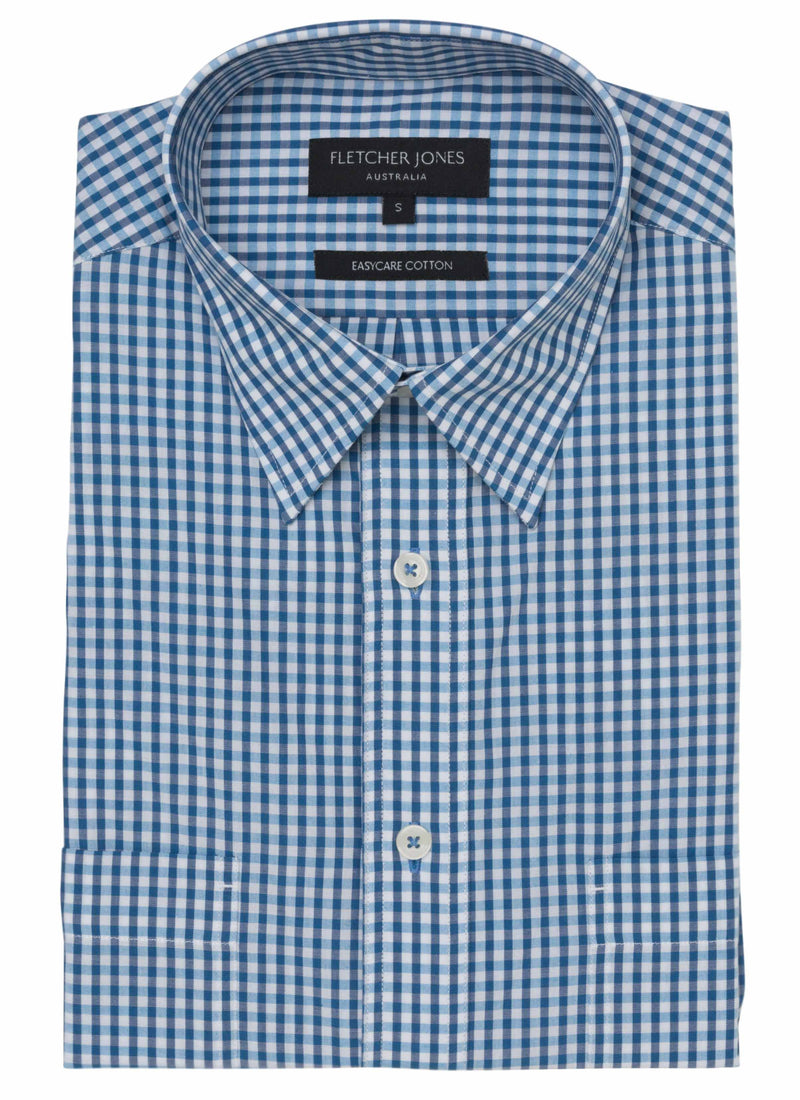 BRONTE PURE COTTON S/S CASUAL SHIRT