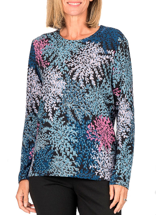 DEANMILL CORAL LONG SLEEVE TOP