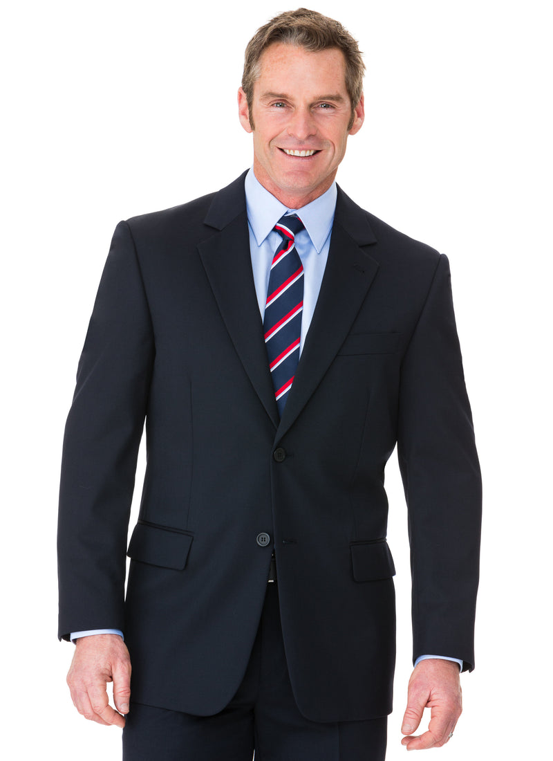 CHARLTON WOOL RICH CLASSIC FIT JACKET - NAVY