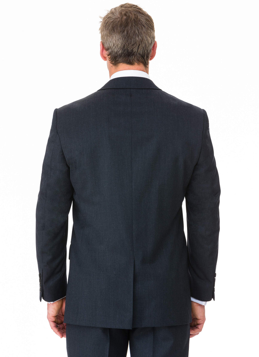 CHARLTON WOOL RICH CLASSIC FIT JACKET - CHARCOAL