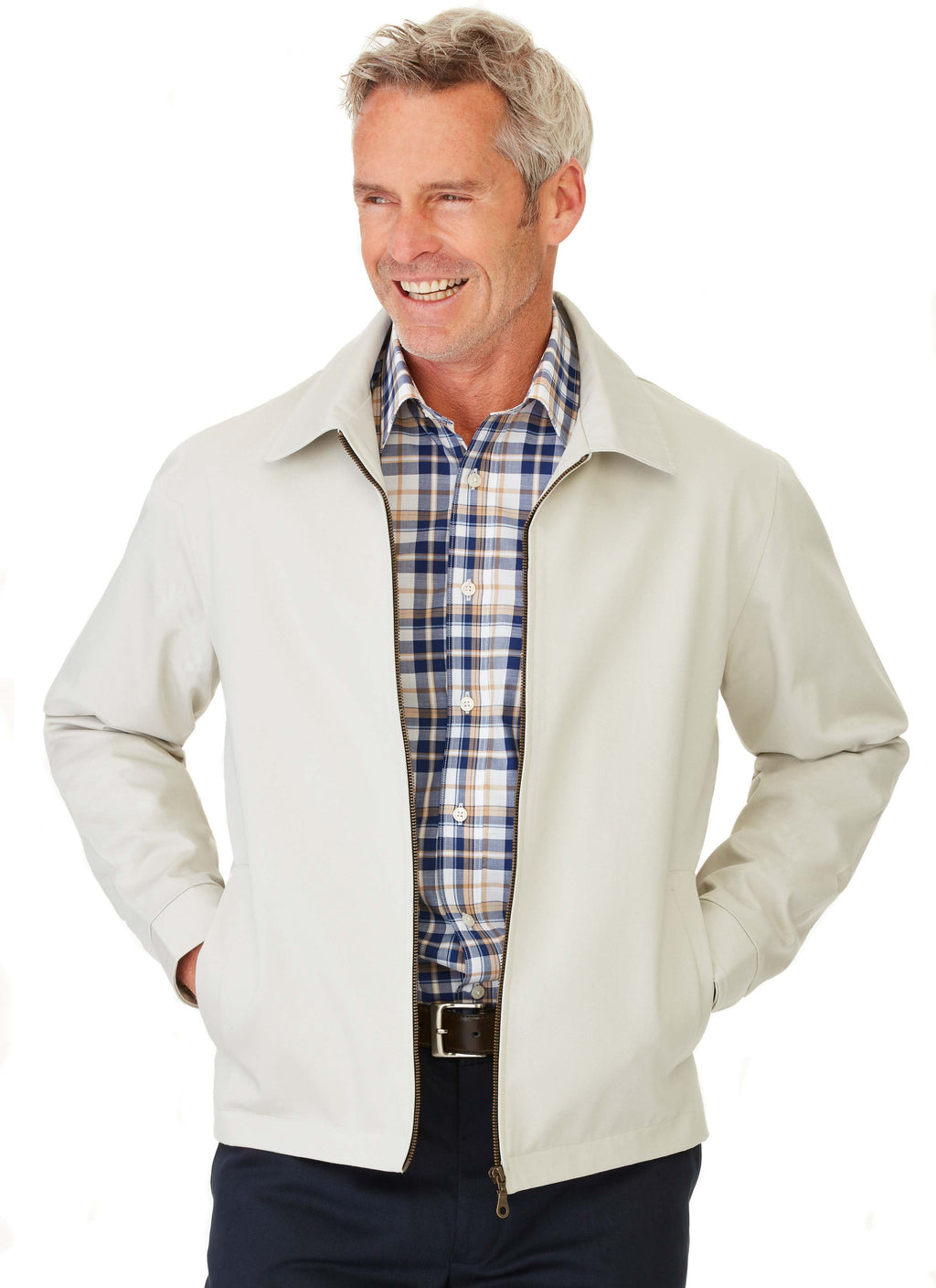 COTTER CASUAL JACKET STONE