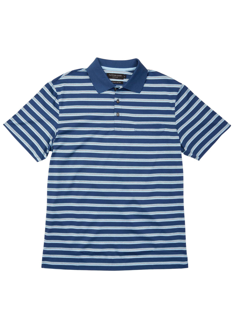 DARRA MERCERISED PURE COTTON POLO