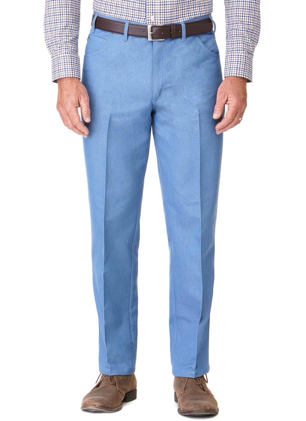 FLETCHER JEAN (MJ08B) - PALE BLUE - NEW STOCK
