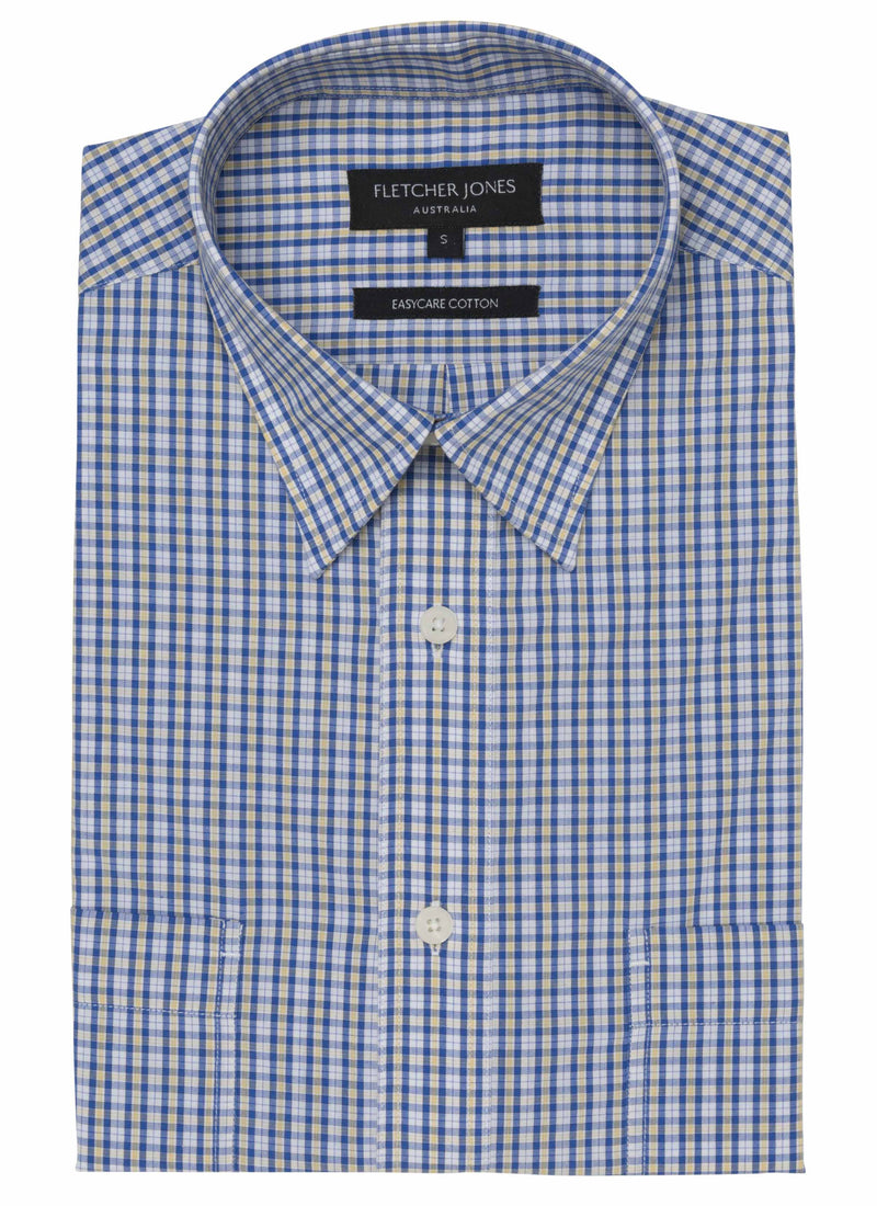 GILMORE Pure Cotton S/S Casual Shirt
