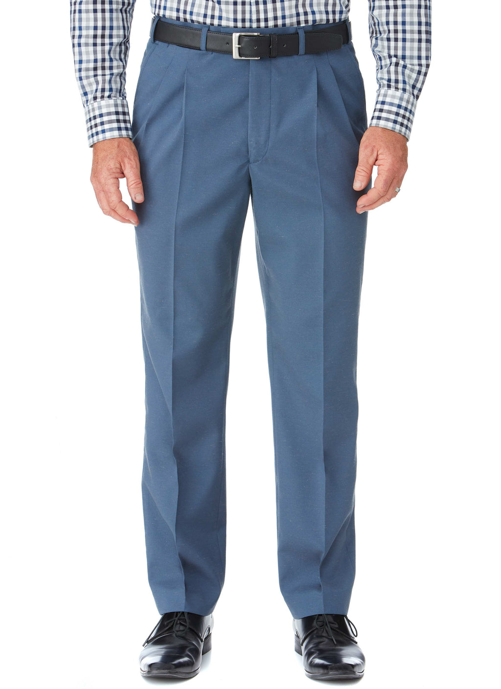 GLENELG PLEATED TROUSER