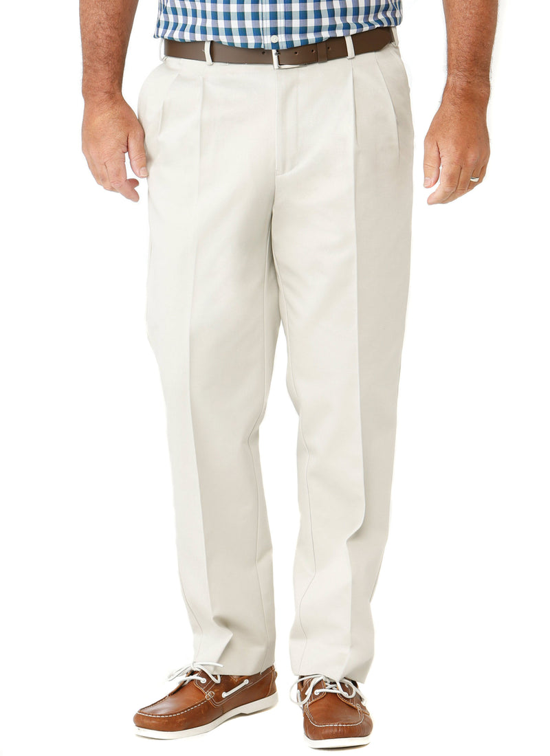 MAITLAND PLEATED CASUAL TROUSER