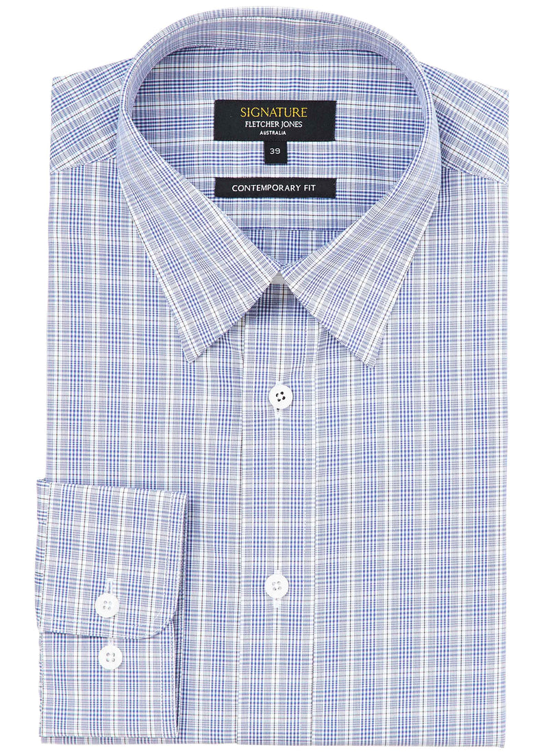 MARELL CONTEMPORARY FIT SIGNATURE COTTON BUSINESS SHIRT