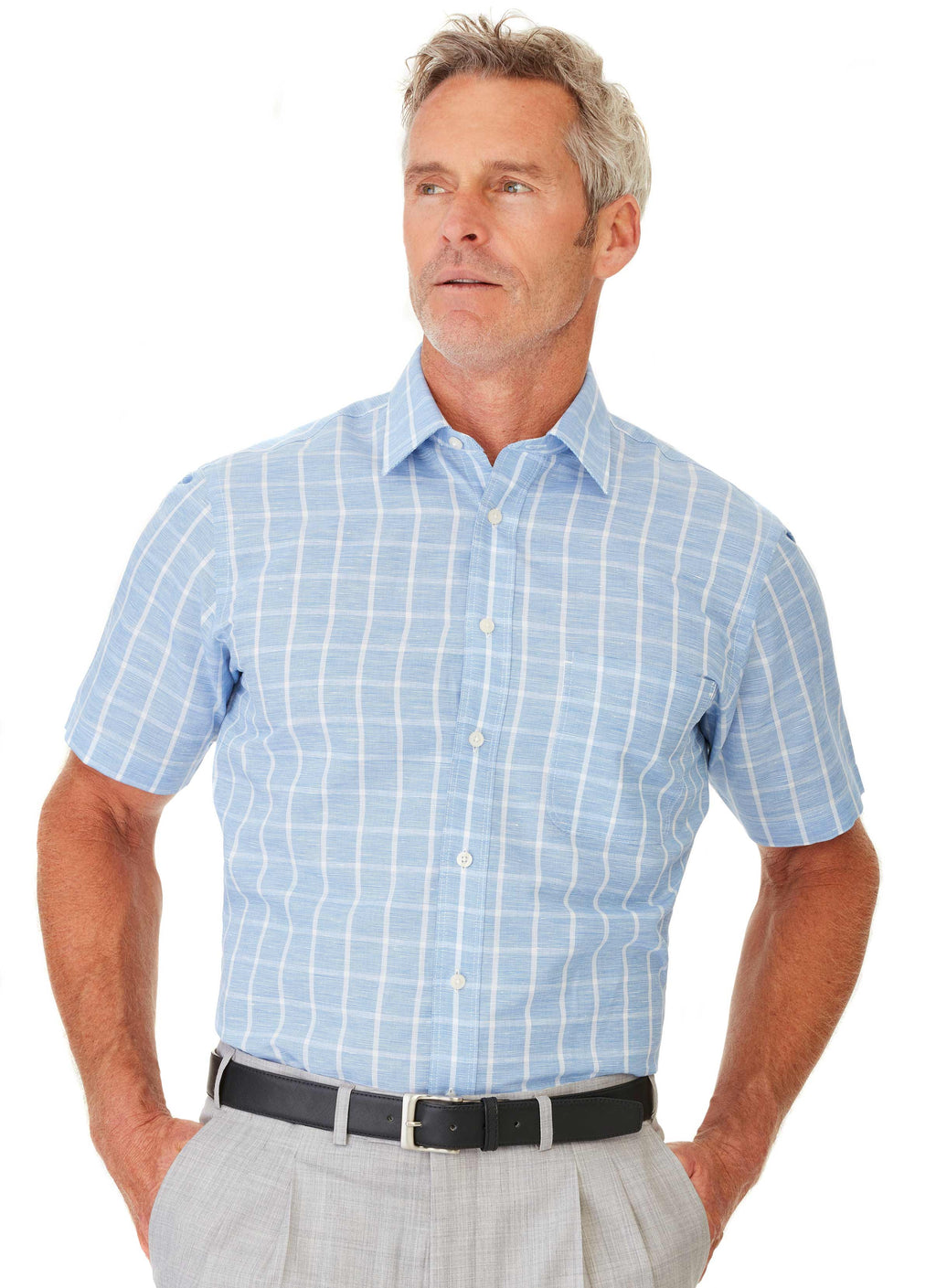 MILROY SHORT SLEEVE CASUAL SHIRT
