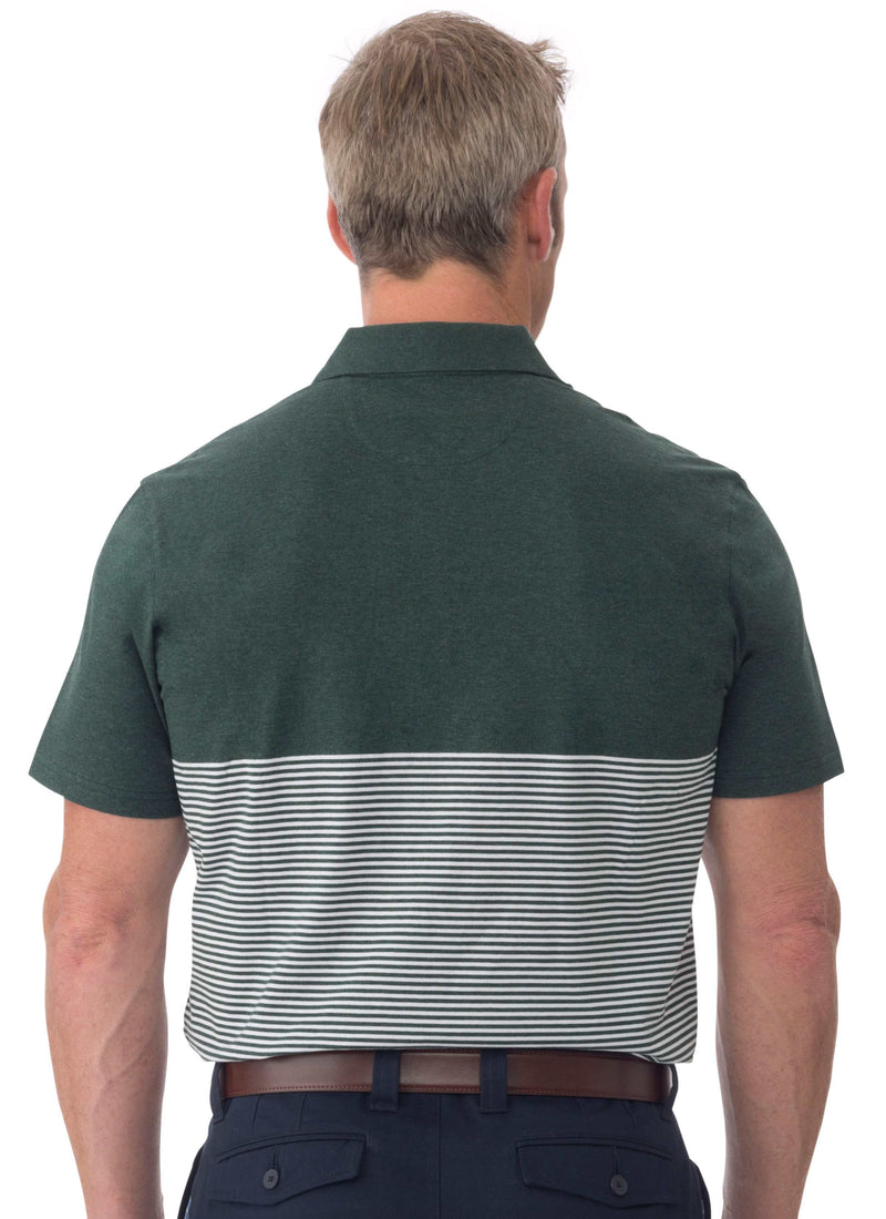 PALMS MERCERISED COTTON POLO