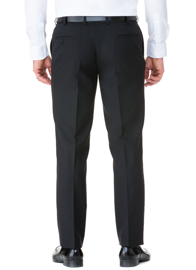 BEAUFORT FLEXIWAIST TROUSER - BLACK