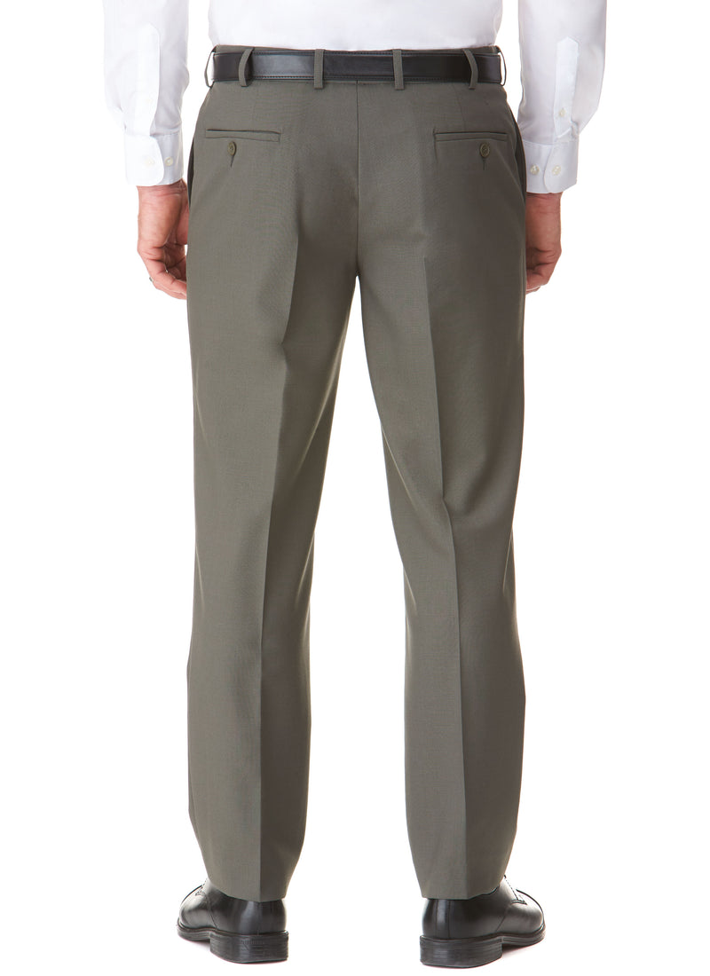 BEAUFORT FLEXIWAIST TROUSER - OLIVE