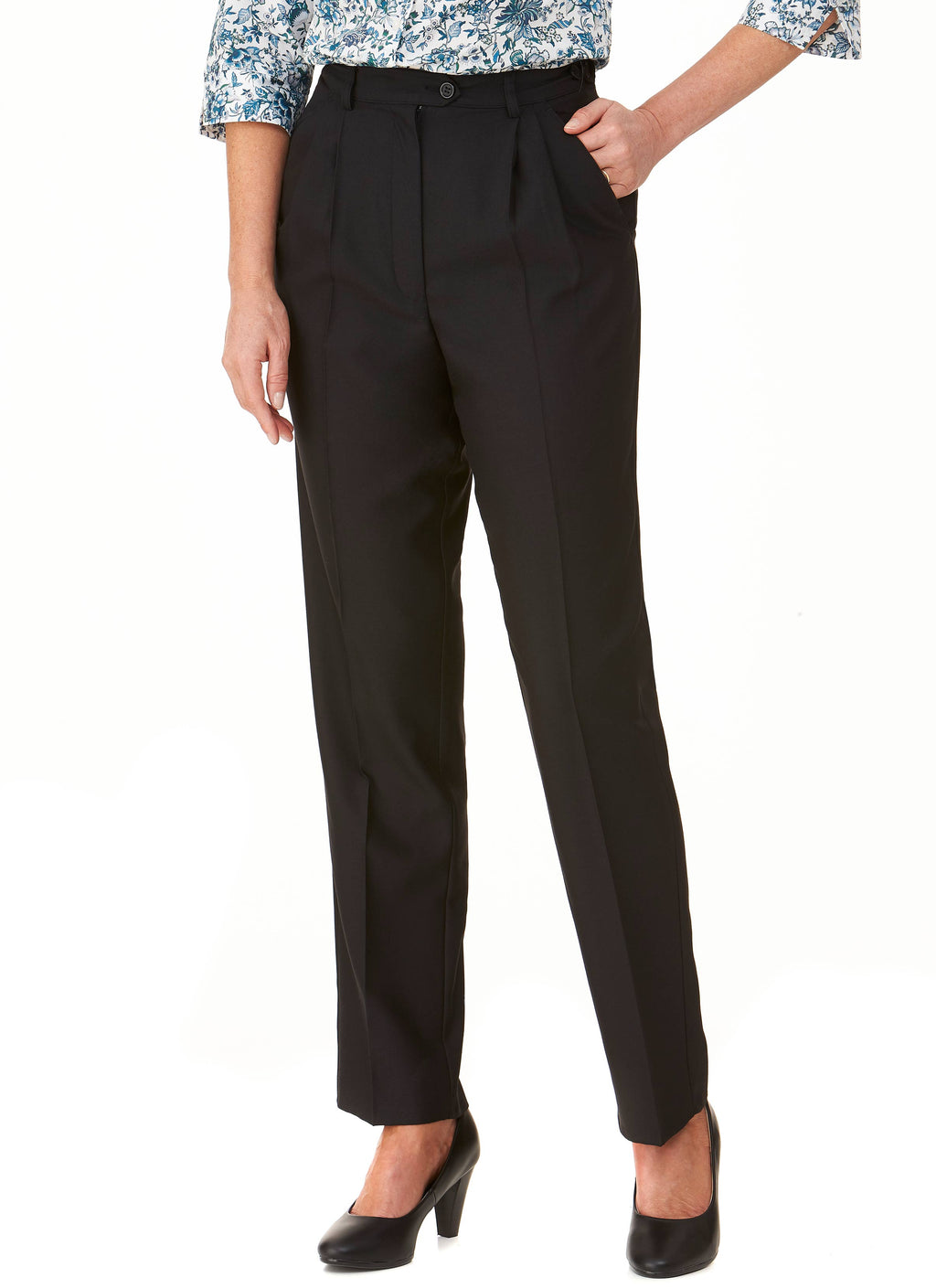 COLERAINE PLEATED PANT