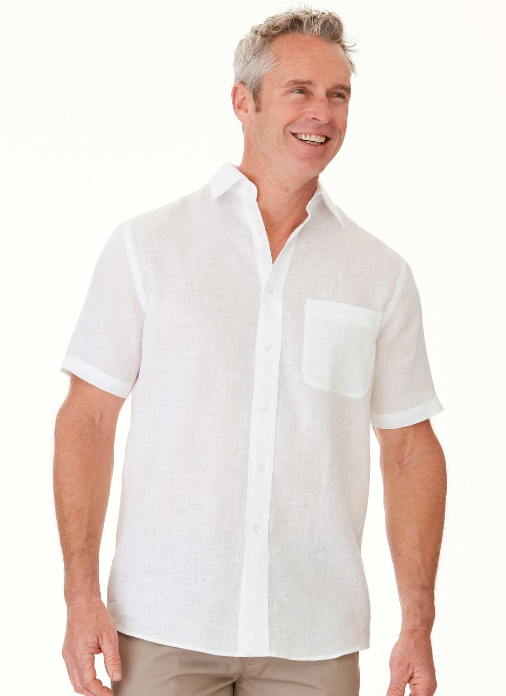 COOLAH SHORT SLEEVE SHIRT WHITE