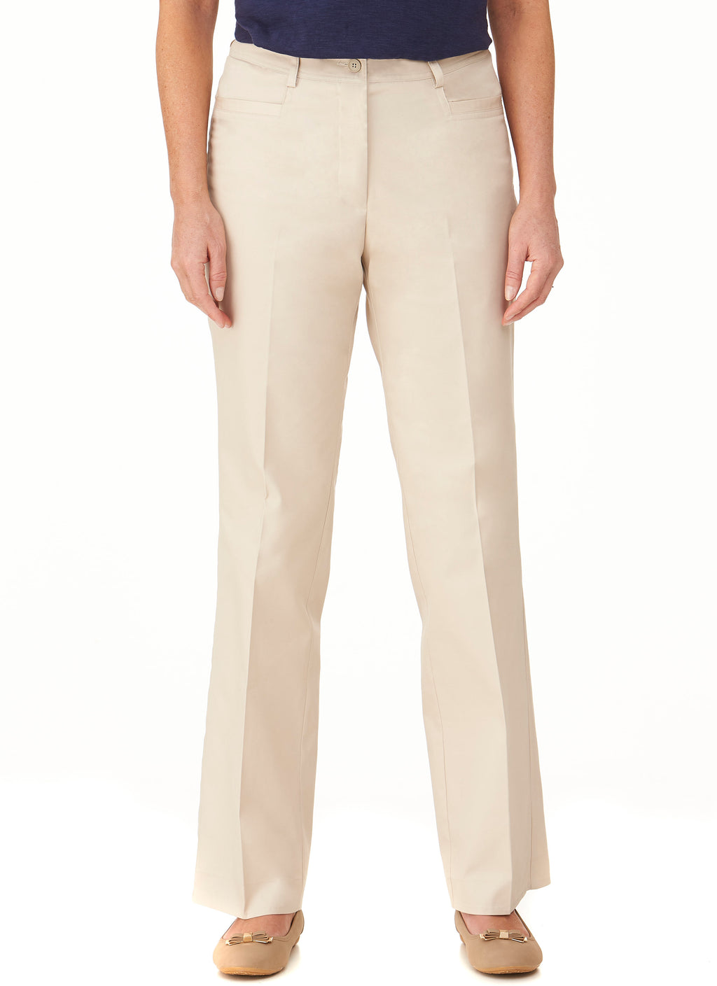 NEWHAVEN FLAT FRONT PANT
