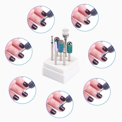 7 Type Tungsten Carbide Burrs Nano Coating Nail