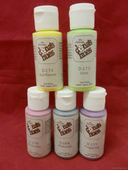 Ceramic Paint * Dona's Hues Opaque Stain - 1 oz. Drybrushing * Choose Color - Handcrafted Ceramics