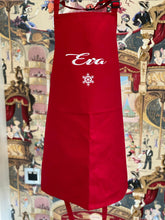 Load image into Gallery viewer, Red Personalised Apron
