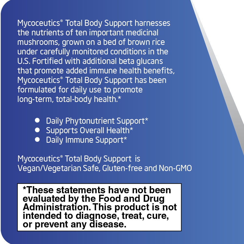 Mycoceutics® Total Body Support