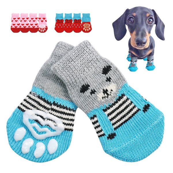 Creative Cat Coats Pet Dog Socks for Indoor Wear