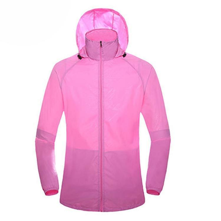 Ultra-light  Rainproof Windbreaker Quick Dry Jackets