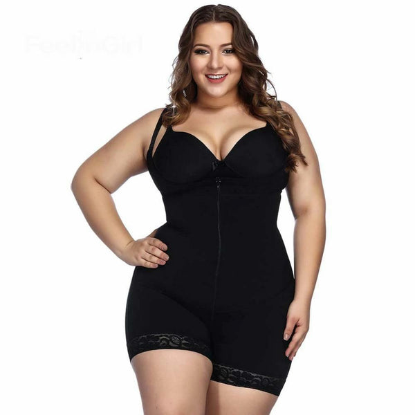 Plus Size Open Crotch Waist Trainer Underbust Body Shapers