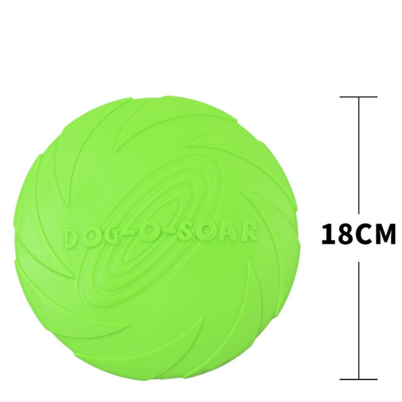 Pet toys New Large Dog Flying Discs Trainning Rubber Fetch