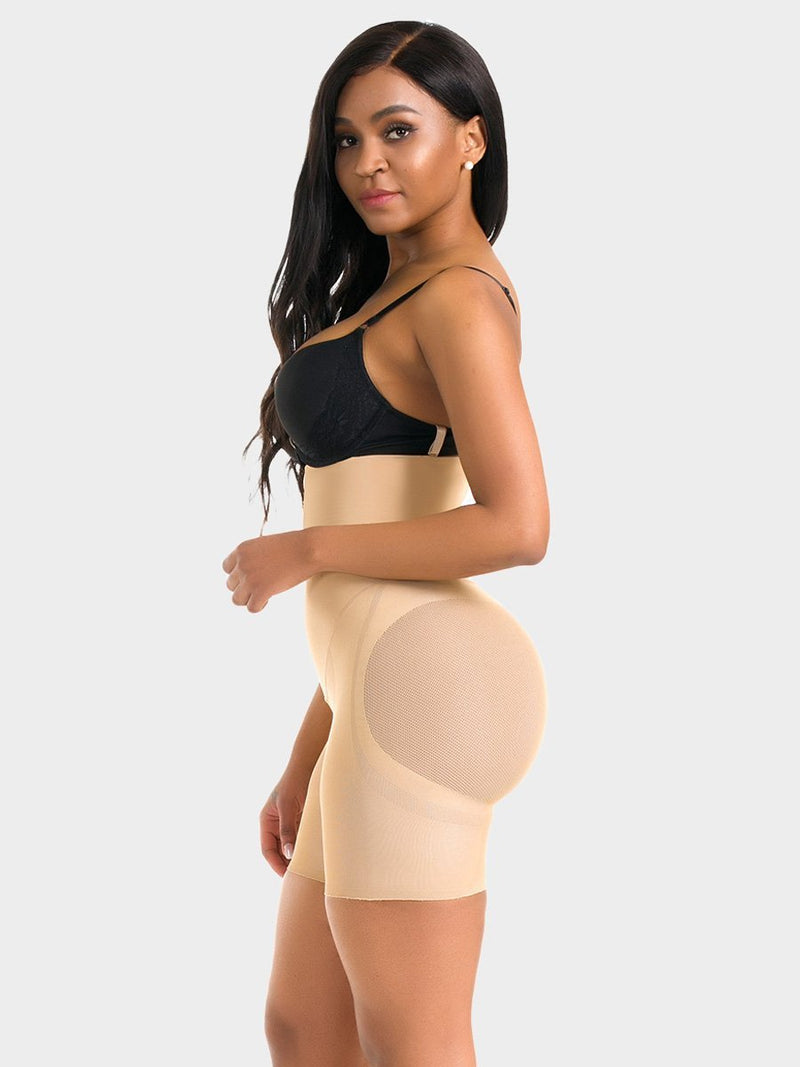 High Waist Butt Lifter Double Tummy Layer