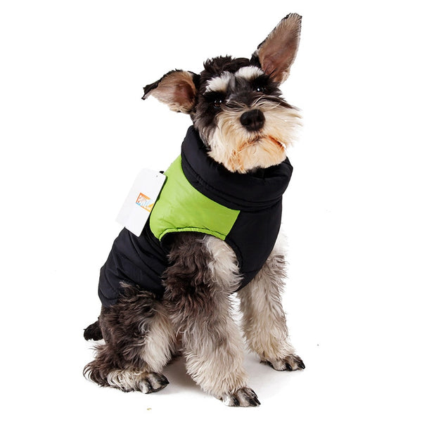 Small Dog Winter Clothing Vest Warm Apparel Pet Clothes XS-XL