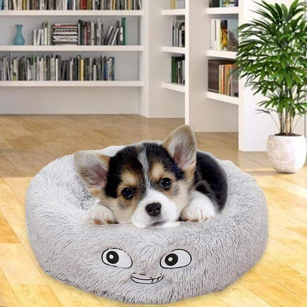 (Last Day Promotion, 49% OFF) COMFY CALMING DOG/CAT BED WITH EMOTICONS