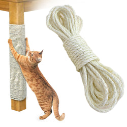 Sisal Rope Cat Tree DIY Toys Scratch Board Chair Legs