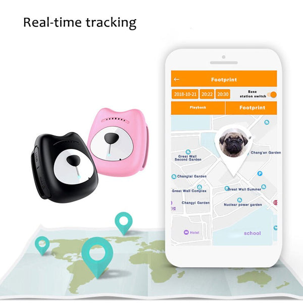 Accuracy GPS Tracker Collar Smart Locating Outdoor Device