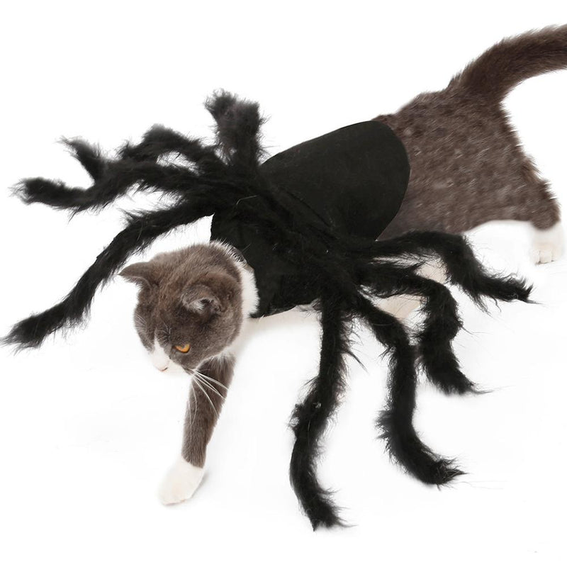 Cat Dog Halloween Spider Wing Clothes