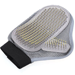 Comfortable Grooming Glove Comb Pin Brush for Medium to Long Hair Relax Muscles