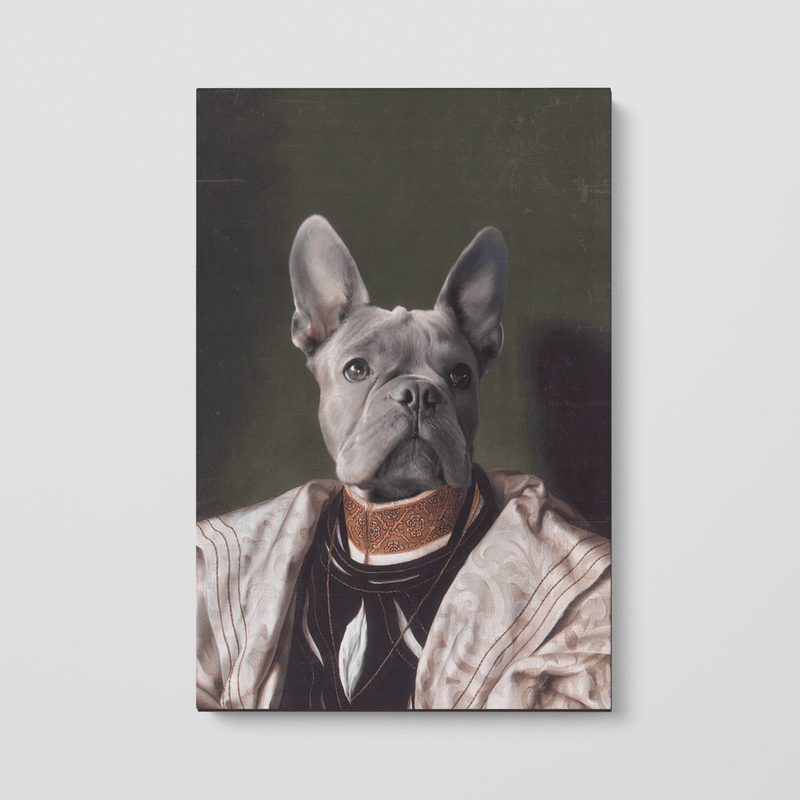 The Savant - Custom Pet Canvas