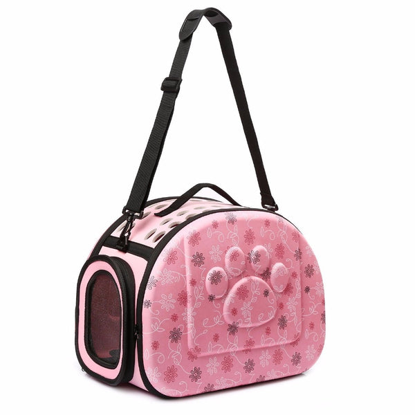 Foldable Pet Carrier Airline Approved Outdoor Travel Puppy Shoulder Bag for Small Dog