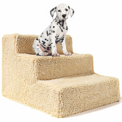 Pet 3 Steps Stairs for Small Dog Cat Pet Ramp Ladder Portable up to 20kg