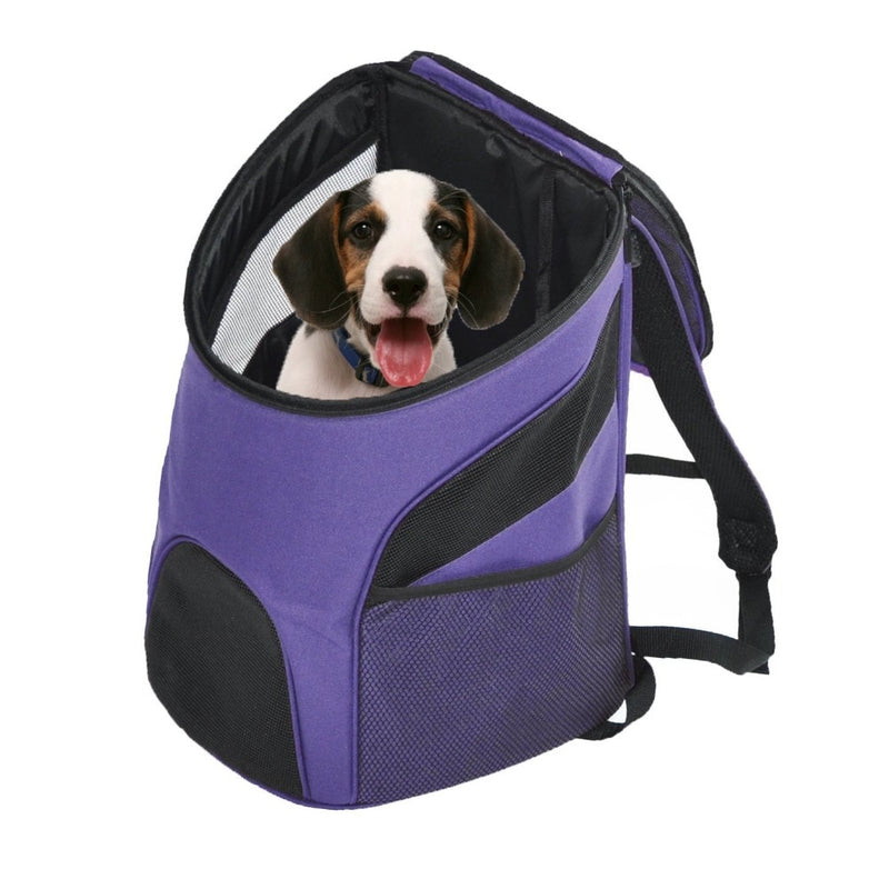 Pet Carrier Premium Travel Outdoor Mesh Backpack Carry Bag