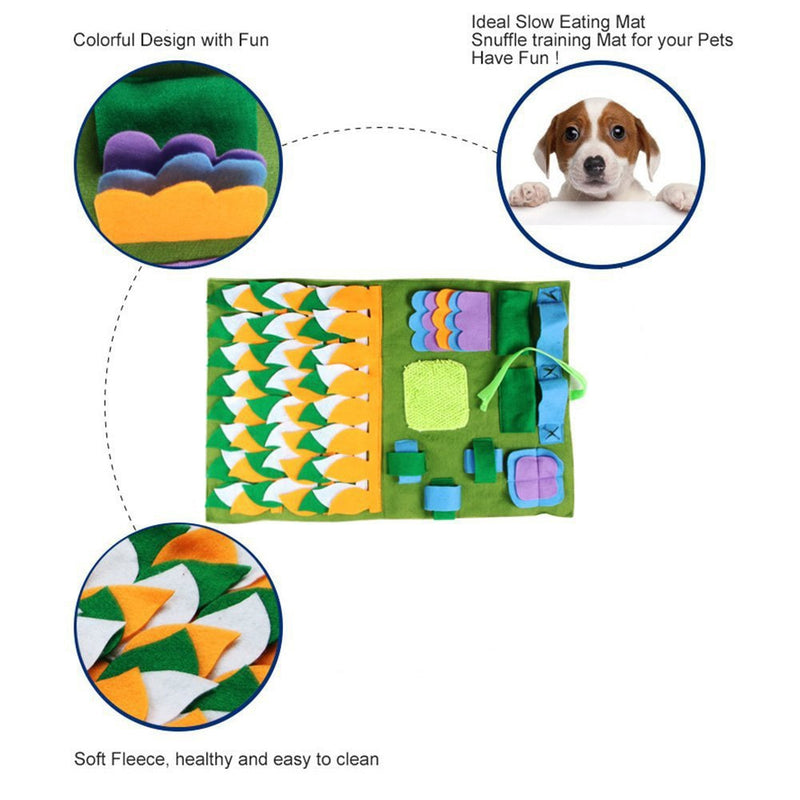 Dog Sniffing Mat Find Food Training Blanket