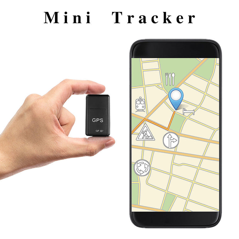 Mini GPS Tracker Strong Magnetic Free Installation