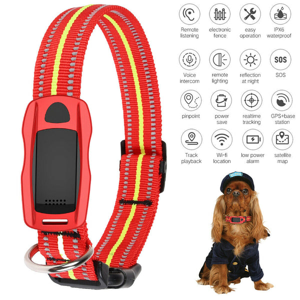 Pet Dog Smart Mini GPS Tracker Anti-Lost Tracer