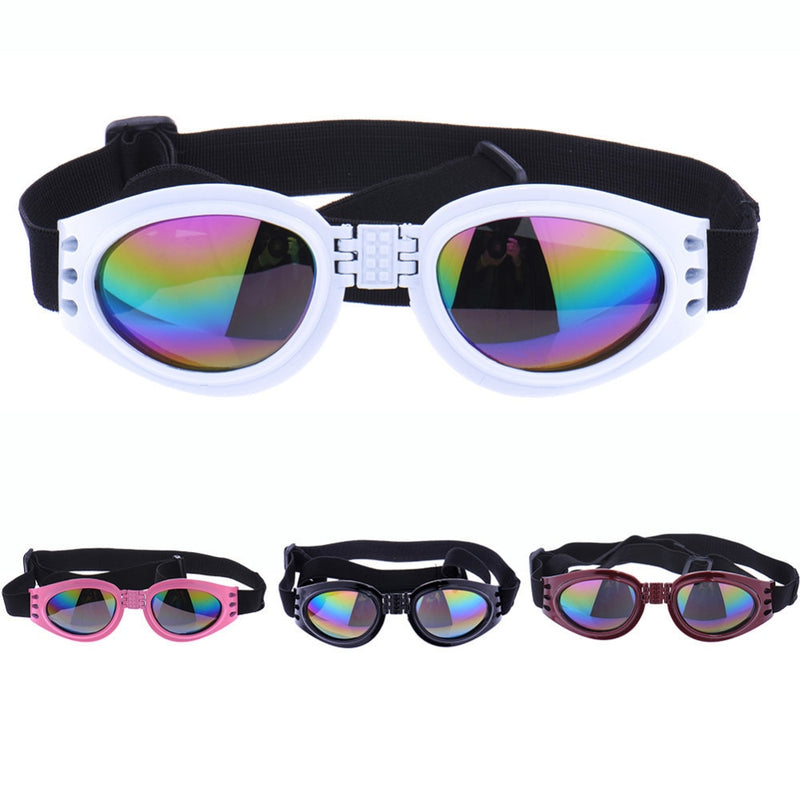 4 Colors Foldable Pet Dog glasses medium Large Waterproof