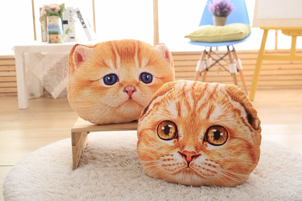 Creative 3D Cat Pillow 40cm/50cm